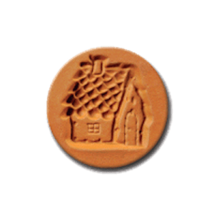 1065 Gingerbread House Cookie Stamp | CookieStamp.com