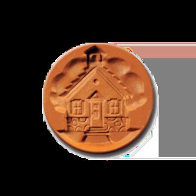 1066 School House Cookie Stamp | CookieStamp.com