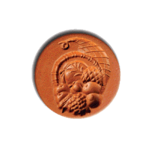 1071 Cornucopia Cookie Stamp | CookieStamp.com