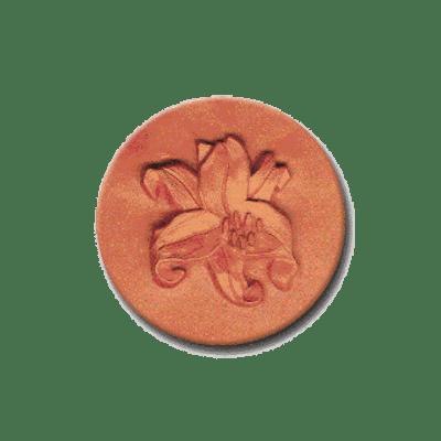 129 Heirloom Rycraft Lily Cookie Stamp | CookieStamp.com