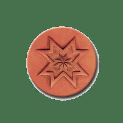 278 Rycraft Quilt Block Craft Stamp   CookieStamp.com