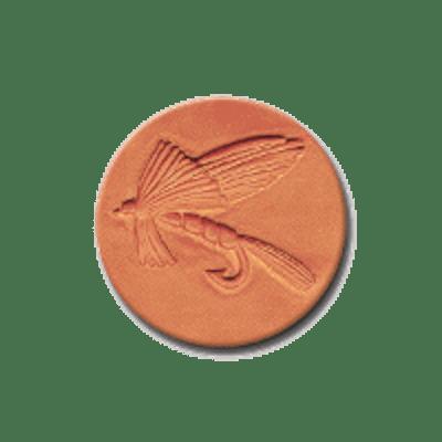 CR 296 Rycraft Fishing Fly Craft Stamp | CookieStamp.com