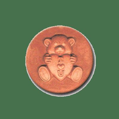 356 Heirloom Rycraft Love Bear Cookie Stamp | CookieStamp.com