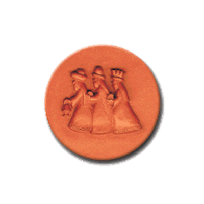 403 Heirloom Rycraft Wise Men Cookie Stamp | CookieStamp.com