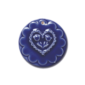 ORN 201 Lacy Heart Ornament | CookieStamp.com