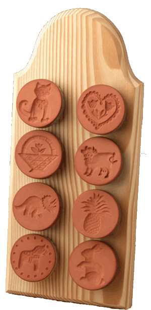 8 Stamp Display Board | CookieStamp.com