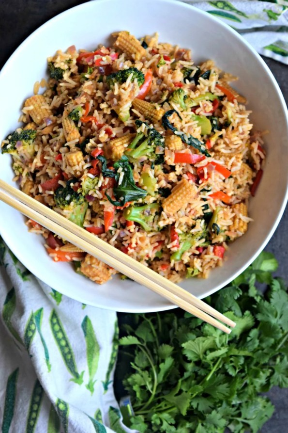 Vegetarian Thai Chilly Fried Rice