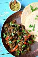 Spicy Mushroom Black Pepper FryCurries & Gravies