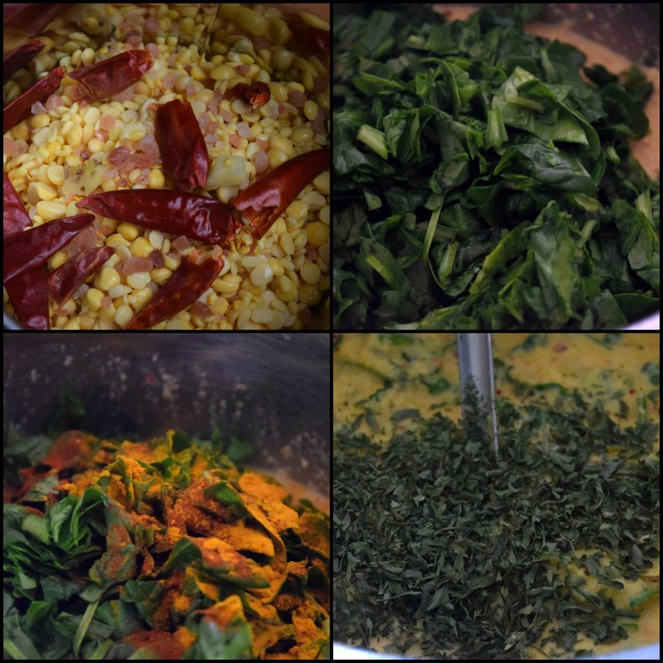 Moong Dal Spinach Chilla   Lentils & Spinach CrepesPower Breakfasts South Indian