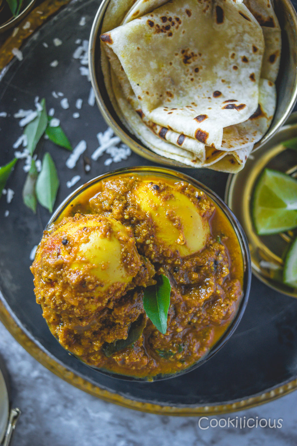 Spicy Chettinad Style Egg Roast CurryCurries & Gravies