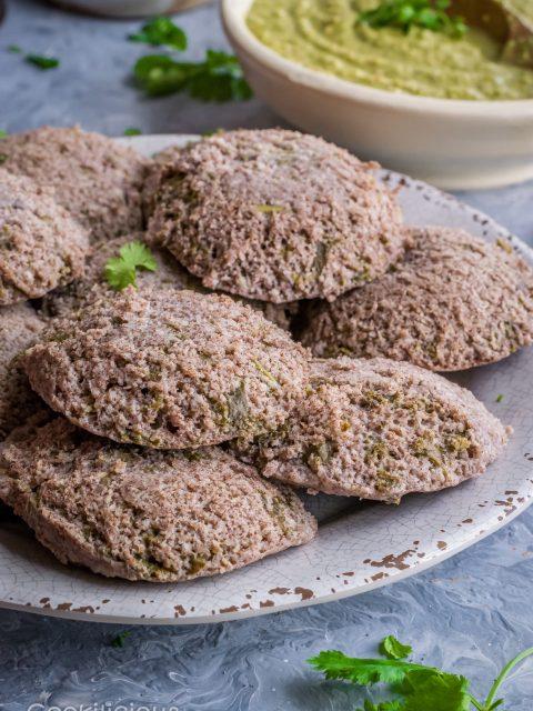 Ragi & Kale Idli | Finger Millet & Kale Steamed Cakes