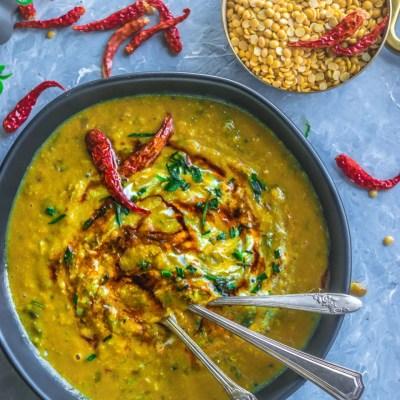 Vegan Malvani Style Tikhat Dal Recipe