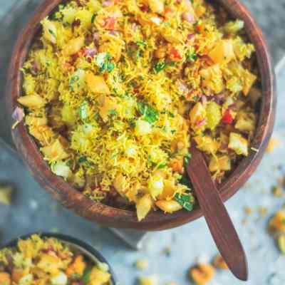 Crispy & Masaledar Cheeselings Bhel – No Cook Recipe!