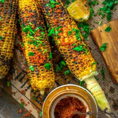 Indian Street Style Corn-On-The-Cob | Masala Bhutta