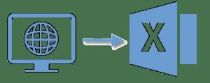 Web vers Excel