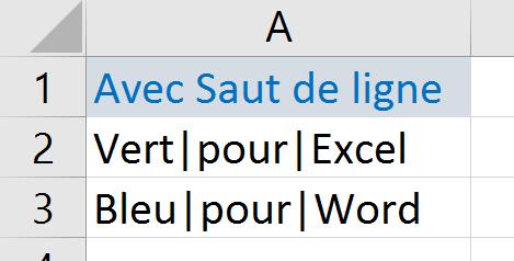 Nettoyer Les Donnees En Supprimant Les Sauts De Ligne