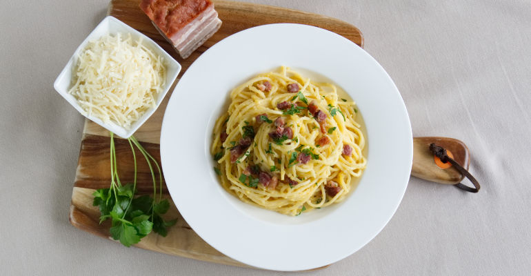 authentic spaghetti alla carbonara