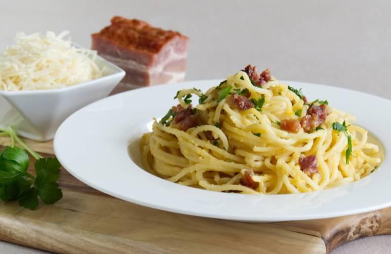 Traditional Spaghetti alla Carbonara