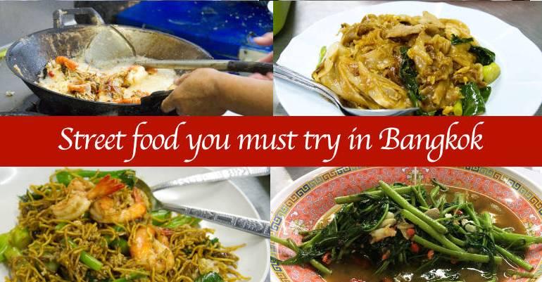 Must try street food in Bangkok