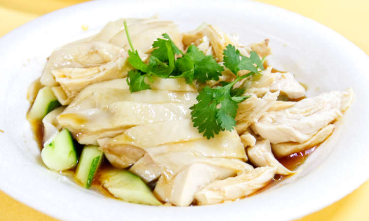 Tian Tian Hainanese Chicken Rice - Maxwell Food Centre