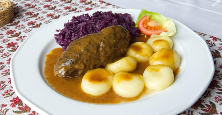 Traditional Beef Roulade - Rolada Śląska