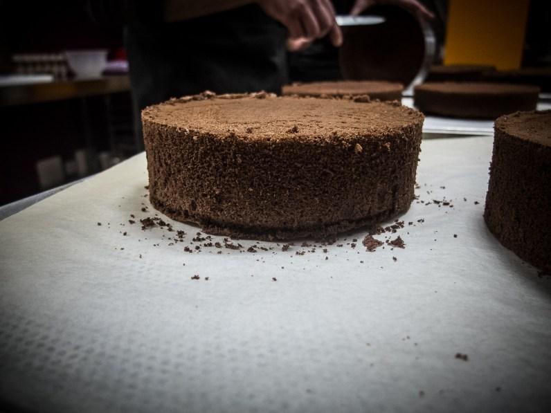 Schokoladen Bisquit