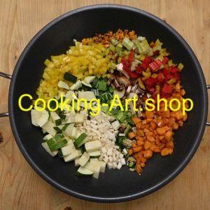 Gemüse-Wok, groß