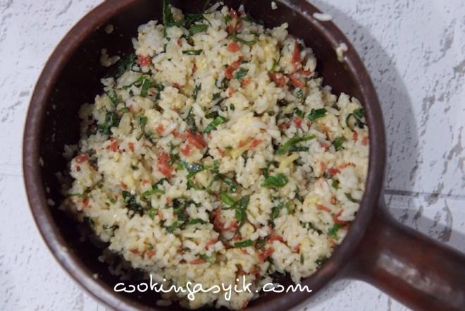 resep membuat arancini, mozzarella rice balls, nasi mozzrella, olahan keju mozzrella, mozzarella goreng, nasi keju enak dan mudah