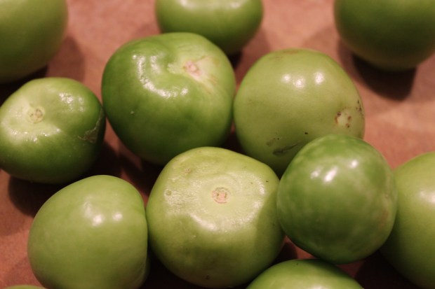 Tomatillo chili with pork and hominy 006