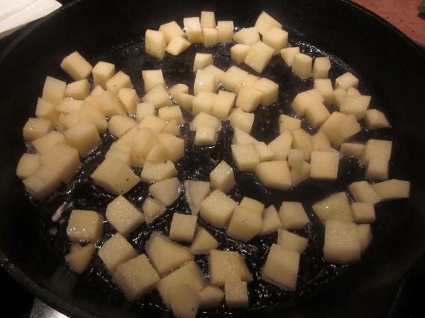 spinach cheese breakfast skillet 013