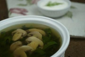 Soup - Uncategorized - No Beetroot Green Borscht