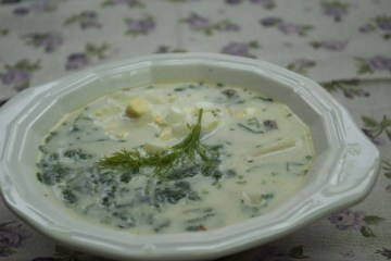 Soup - Borscht without beets - Cold Borscht With Sorrel