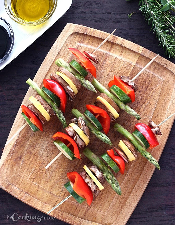 Grilled Vegetables - CookingBride.com