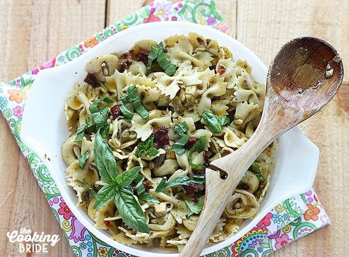 A La Carte Italian Pasta Salad - Cookingbride.com