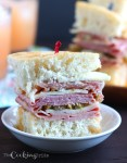 Bite-sized mini muffaletta sandwiches are loaded with sliced meat, cheese, and salty olive salad. These appetizers are loaded with a taste of New Orleans.