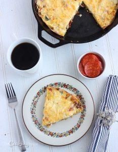 Pepperoni Frittata - CookingBride.com