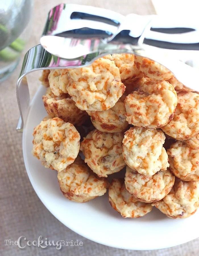 Bacon Cheddar Muffins - CookingBride.com