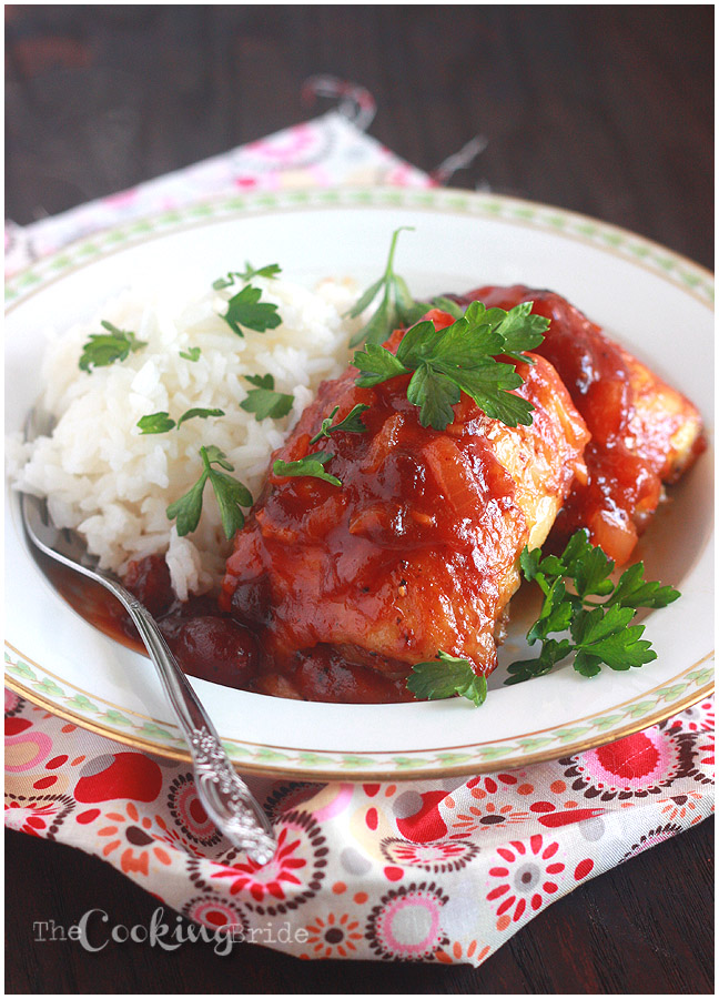 cranberry chicken