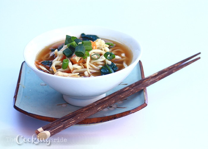 Miso Ramen Chicken Soup - CookingBride.com