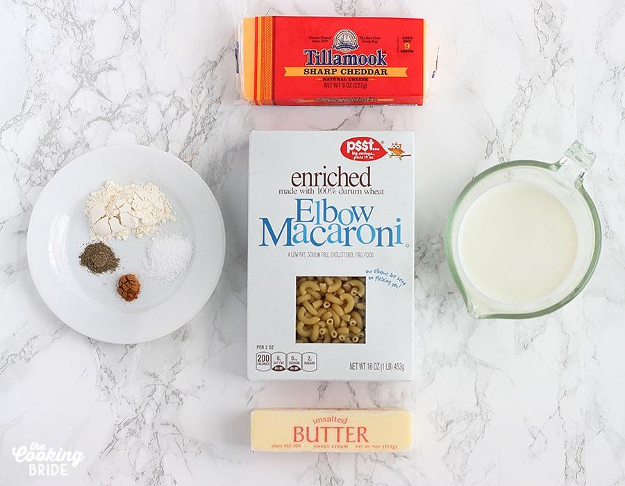 creamy mac and cheese