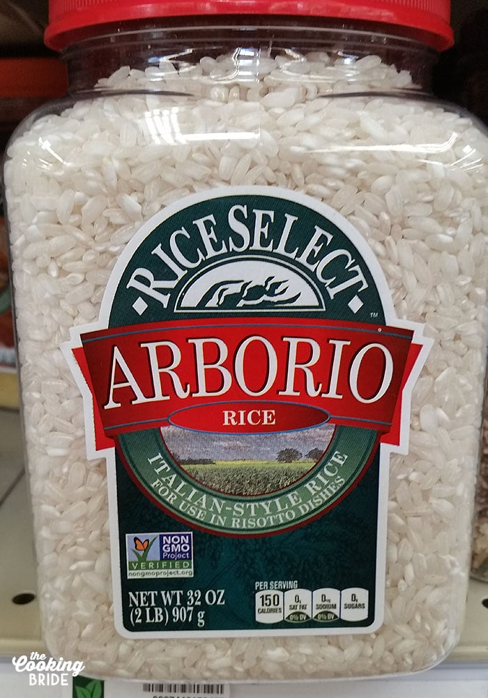 Arborio Rice for Easy Mushroom Risotto
