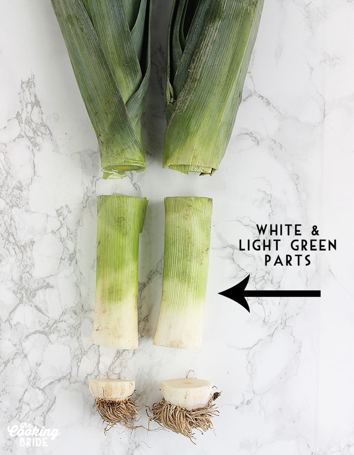 How to Slice Leeks