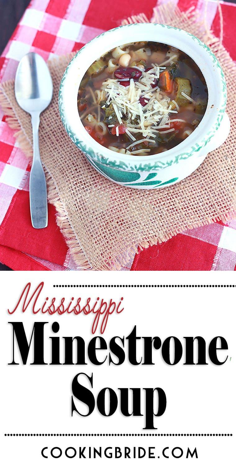 easy minestrone soup recipe