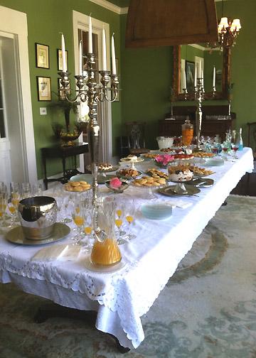 regina's table