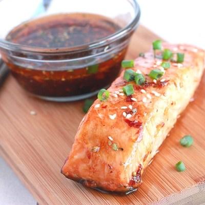 Chili Teriyaki Salmon