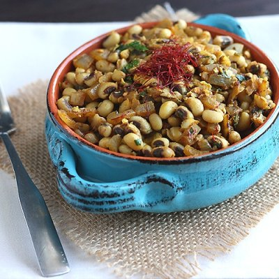 Southern Black Eyed Peas with Saffron