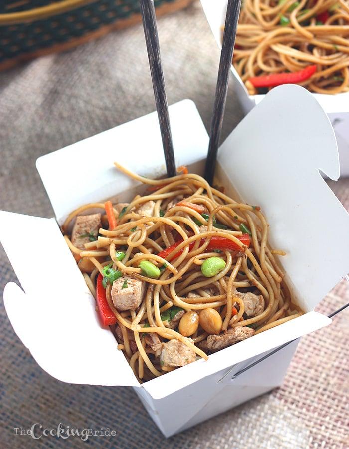 Asian Noodle Salad - CookingBride.com