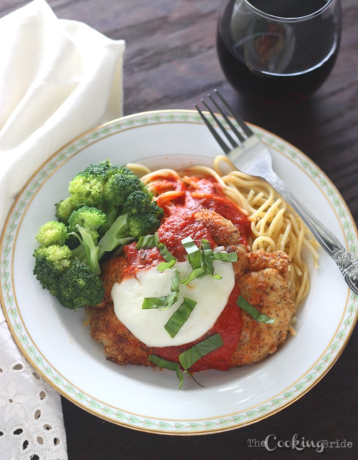 Chicken Parmesan - CookingBride.com