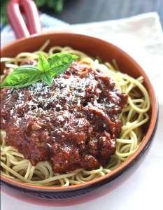 Meat Sauce for Spaghetti - CookingBride.com