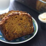 Pumpkin Loaf with Golden Raisins and Hazlenuts